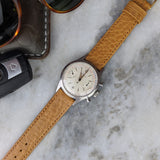 Calfskin Leather Watch Strap - Light Brown - GS&W