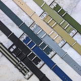 Nylon NATO Watch Strap - Olive - GS&W