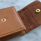 Leather Watch Pouch - Light Brown