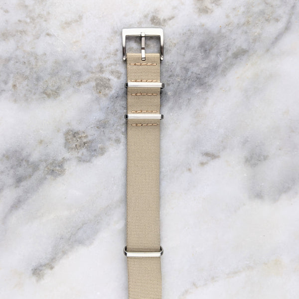 Nylon NATO Watch Strap - Sand - GS&W