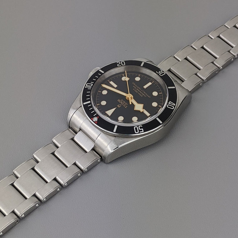 TUDOR HERITAGE BLACK BAY 79230N - GS&W