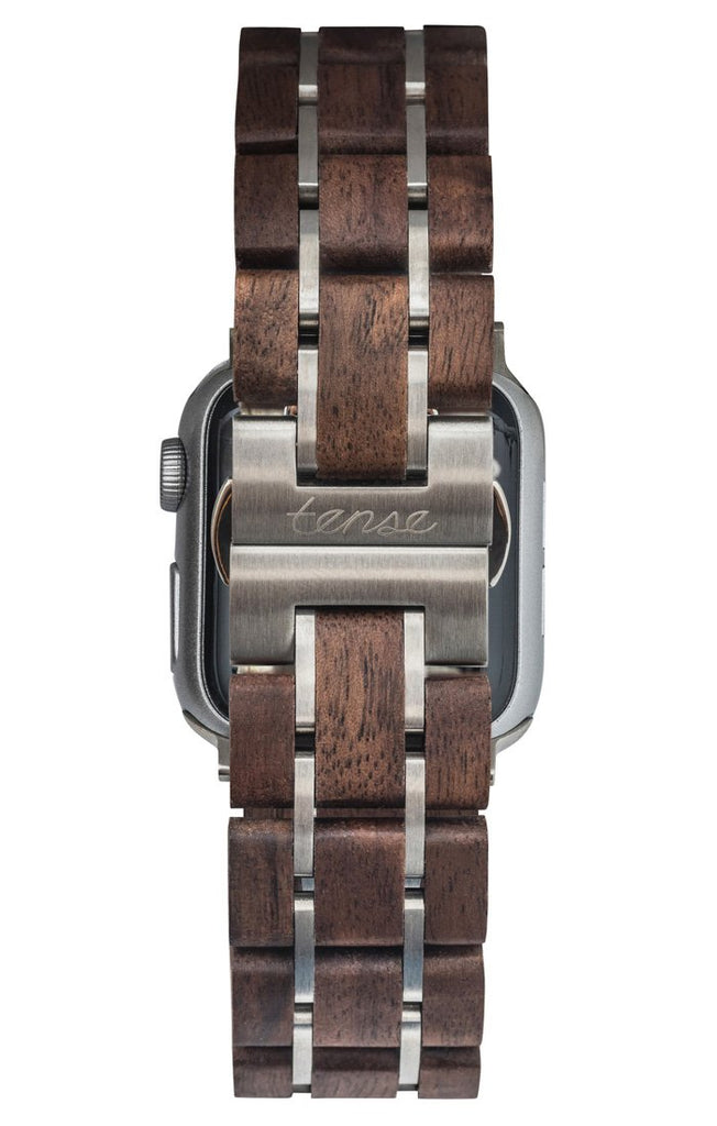 Walnut/Silver 38mm