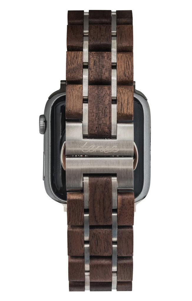Walnut/Silver 42mm