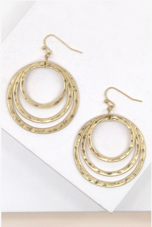 Hoop There It Is, earrings