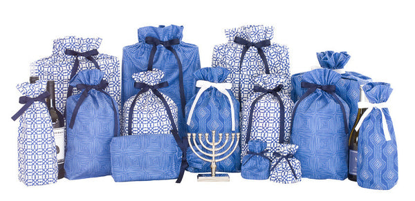 hanukkah holiday set cloth gift bag