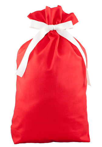 ORGANIC! simply red cloth gift bag