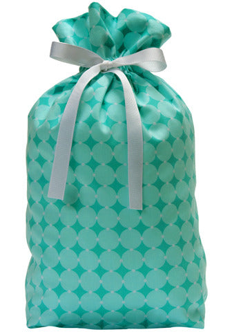 aqua culture cloth gift bag