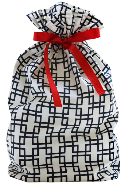 deco maze cloth gift bag