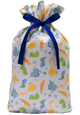 dino dance cloth gift bag