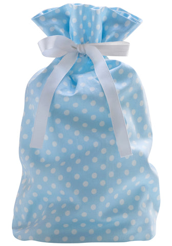 dottie mini pale blue cloth gift bag