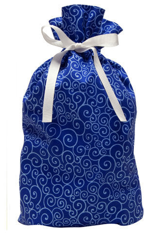 winter sky cloth gift bag