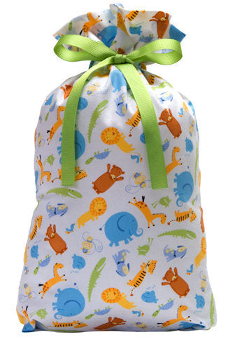 it's a zoo cloth gift bag