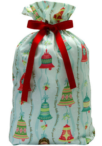 jingle bells cloth gift bag