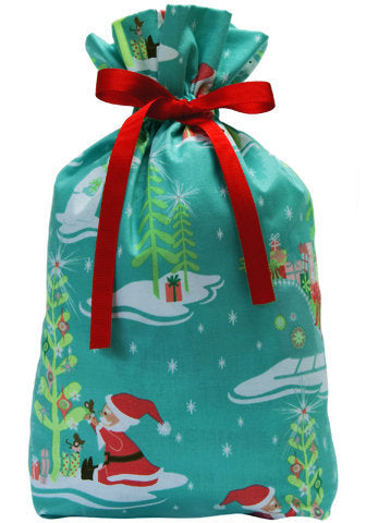frosty's fun cloth gift bag