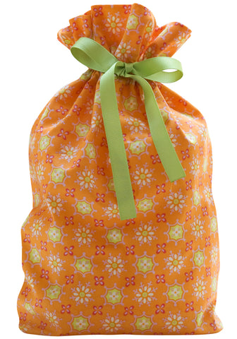 sunshine daisy cloth gift bag