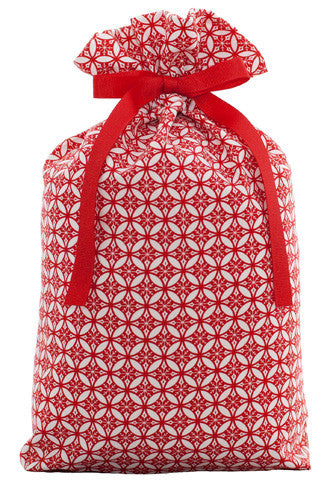 tis the season cloth gift bag