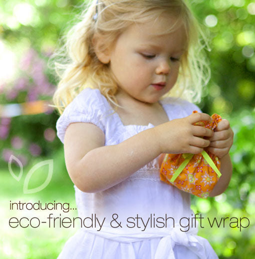introducing eco-friendly and stylish cloth gift wrap