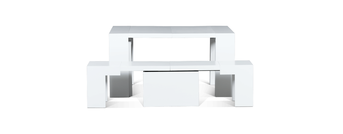 The Dining Set 3.0 + Arctic White