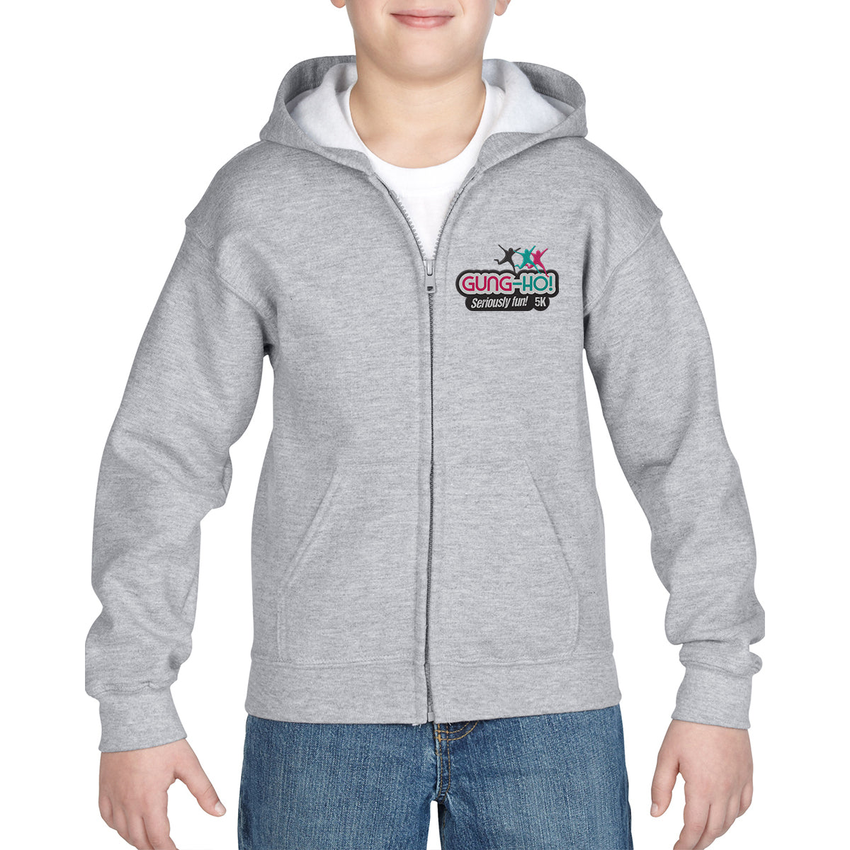 Gung-Ho! Kids Full Zip Hoody