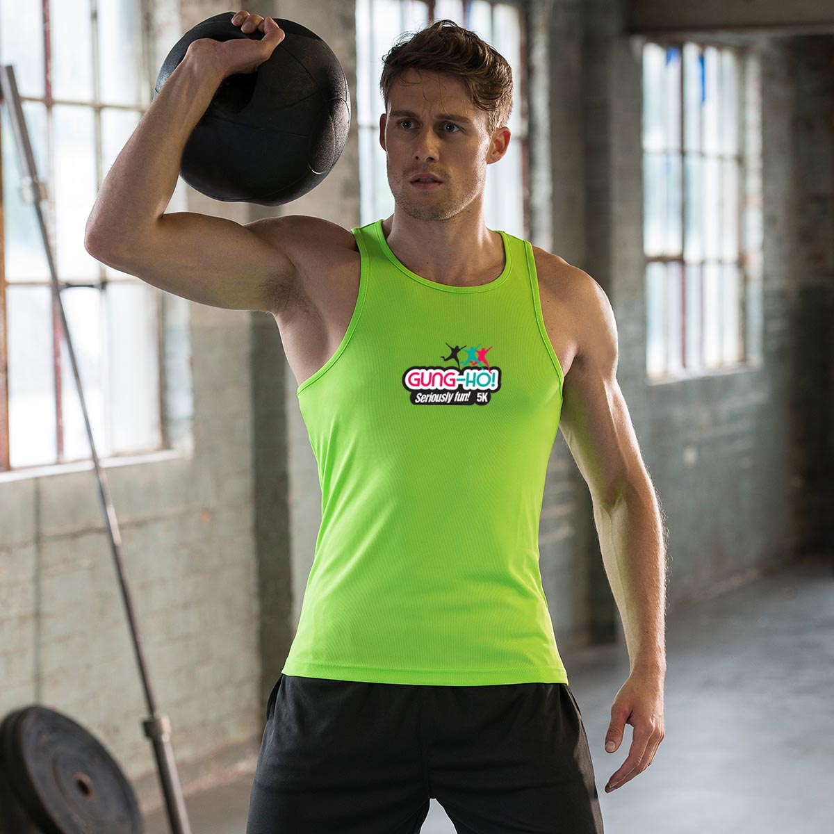 Gung-Ho! Men's Sports Vest