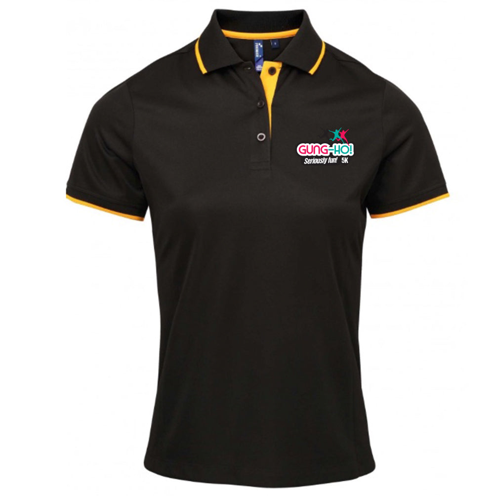Gung-Ho! Womens Polo Shirt