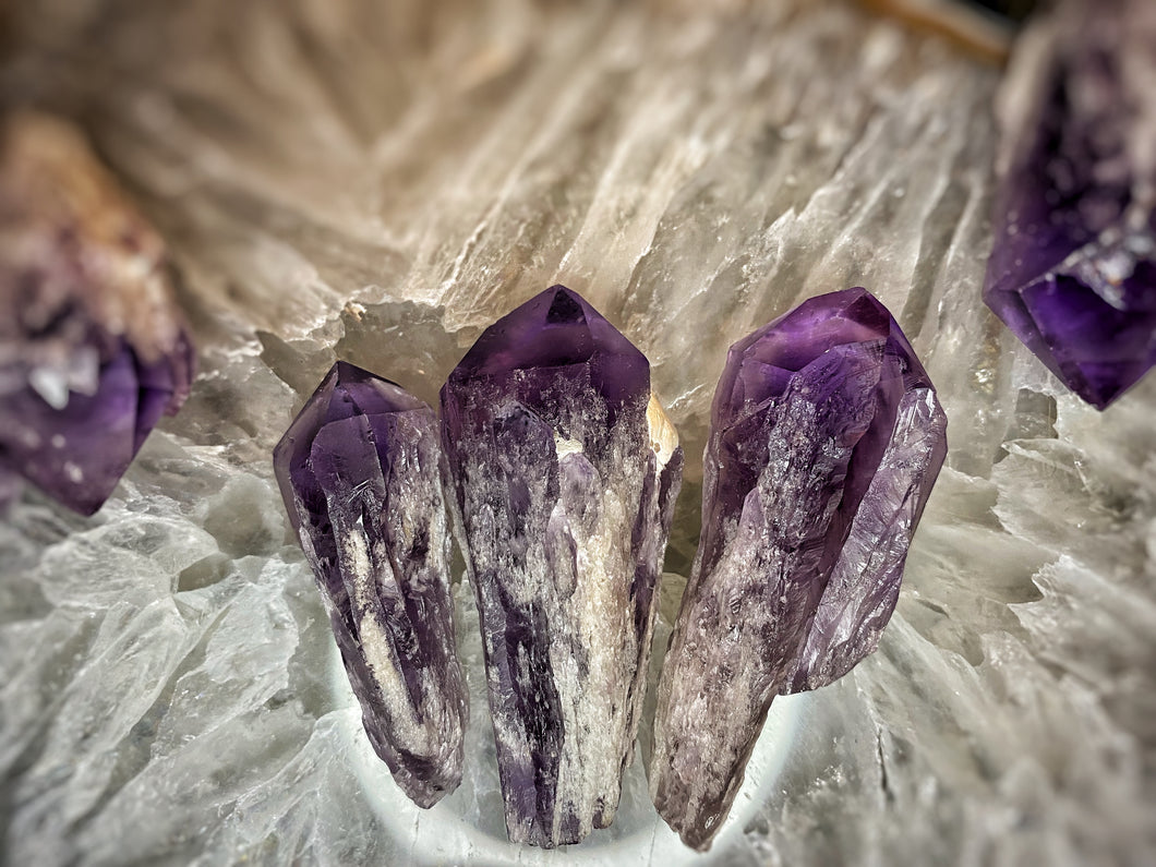 Cathedral Amethyst Points
