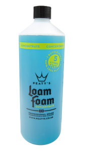 1L / 34oz Peaty's LoamFoam Concentrate Professional Grade Bike Cleaner