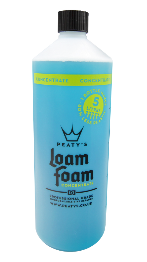 BOGO 1L / 34oz Peaty's Loam Foam Concentrate Professional Grade Bike Cleaner