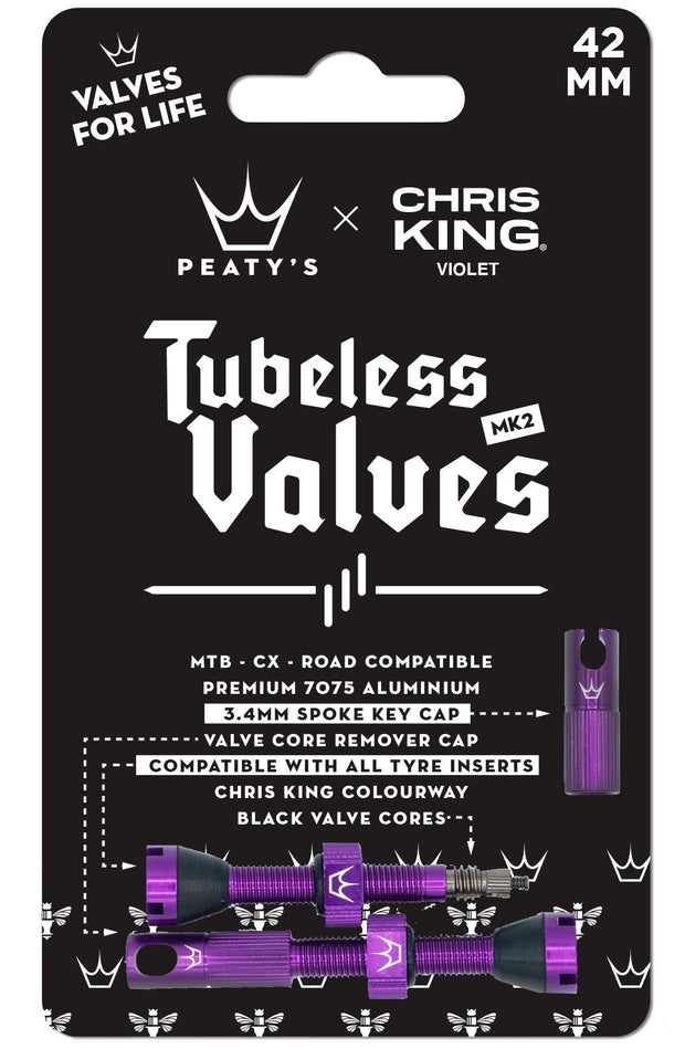 Peaty's x Chris King (MK2) Tubeless Valves