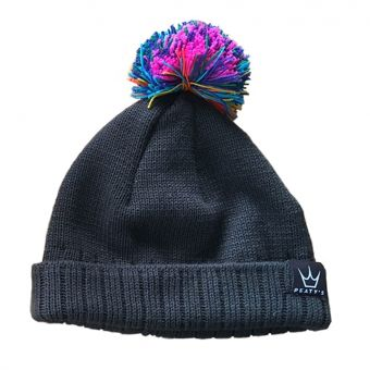 Peaty's Subtle Rainbow Bobble Hat 2018
