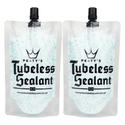 2 x  Peaty's Tubeless Sealant 120ml / 4oz Trail Pouch