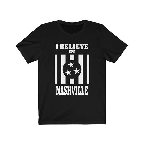 I Believe In Nashville - Black Shirt - NashvilleTN Store