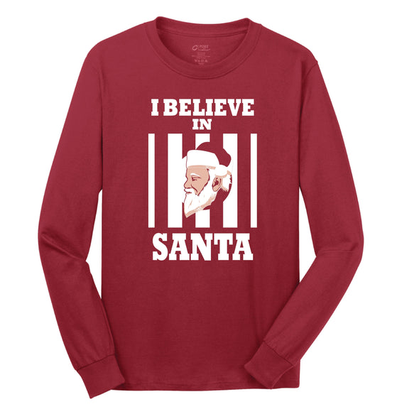 I Believe In Santa Toddler Long Sleeve Shirt - NashvilleTN Store