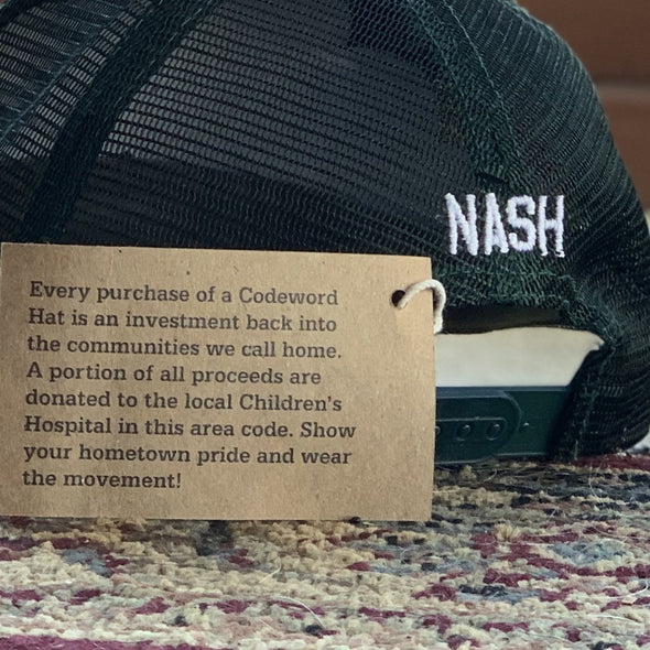 615 - NASH (CAMO TRUCKER) - NashvilleTN Instagram