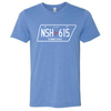 Nashville License Plate Shirt - NashvilleTN Store