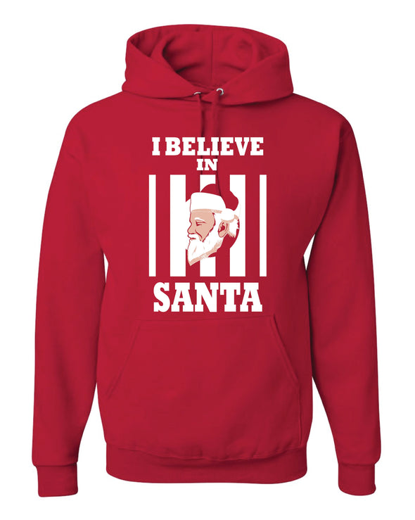 I Believe In Santa Adult Hoodie - NashvilleTN Instagram
