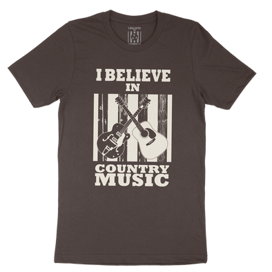 I Believe In Country Music Shirt - NashvilleTN Store