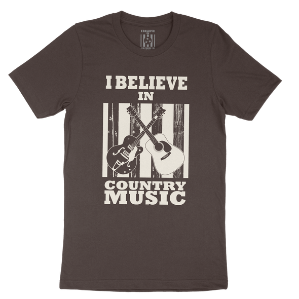 I Believe In Country Music Shirt - NashvilleTN Instagram