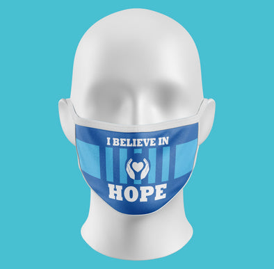 I Believe In Hope Face Masks - NashvilleTN Instagram