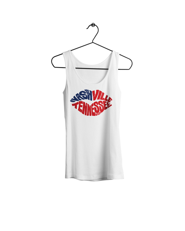Nashville Lips Women's Tank - NashvilleTN Instagram