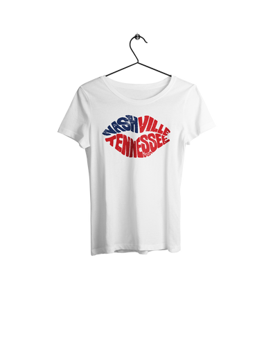 Nashville Lips Women's Shirt - NashvilleTN Instagram