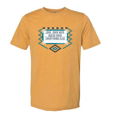 Love Over Hate, Queso Over Everything Else Shirt - NashvilleTN Store