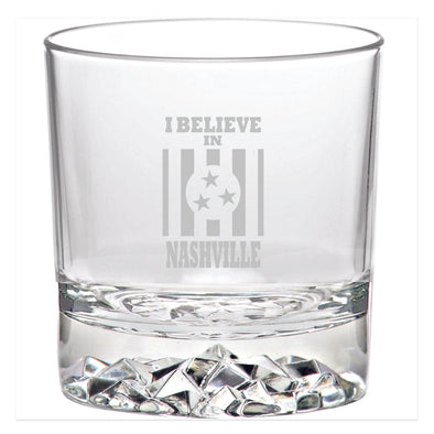 I Believe In Nashville Whiskey Glass - NashvilleTN Store