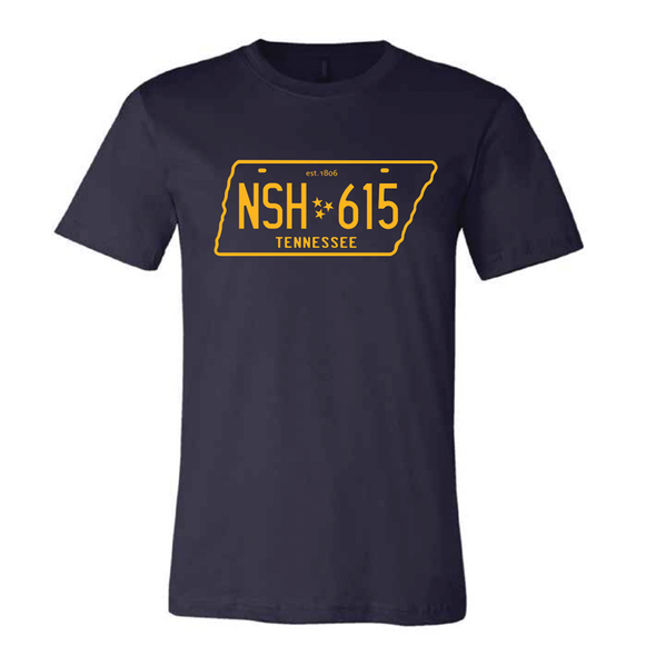 Nashville License Plate Shirt - NashvilleTN Instagram