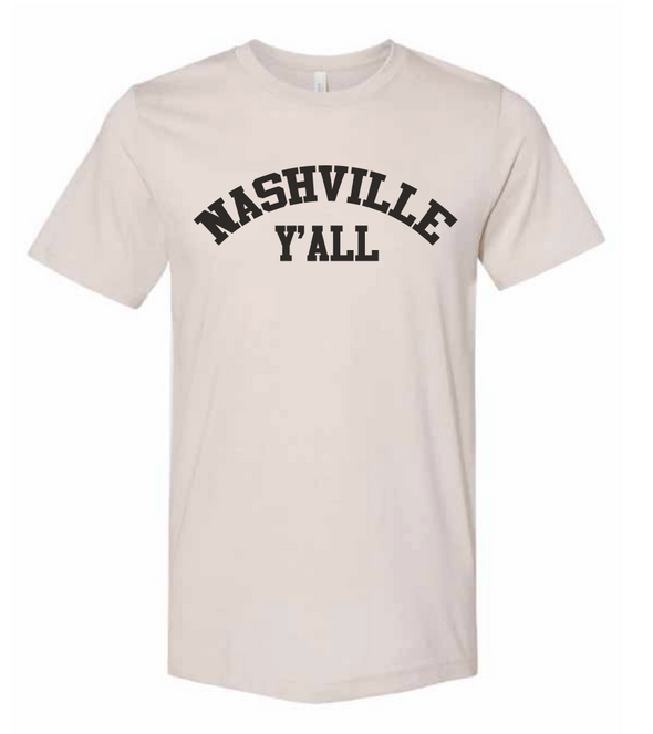 Nashville Y'all Shirt - NashvilleTN Instagram