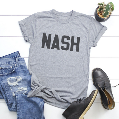 NASH - Grey Shirt - NashvilleTN Instagram