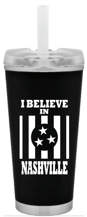 I Believe In Nashville Brooklyn Tumbler - NashvilleTN Store