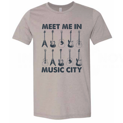 Meet Me In Music City T-Shirt - NashvilleTN Store