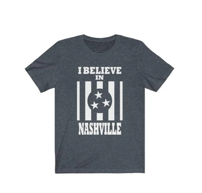 I Believe In Nashville - Kids Shirt - NashvilleTN Instagram
