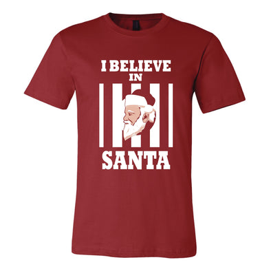 I Believe In Santa Adult Tee Shirt - NashvilleTN Instagram